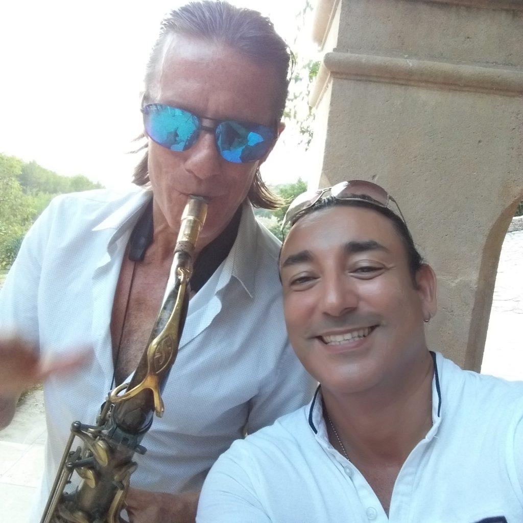 Live Musik Saxophon Mallorca plus DJ